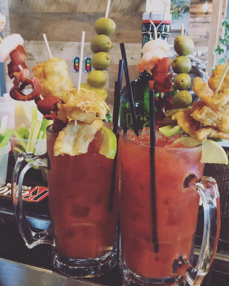 Jumbo Bloody's every Sunday