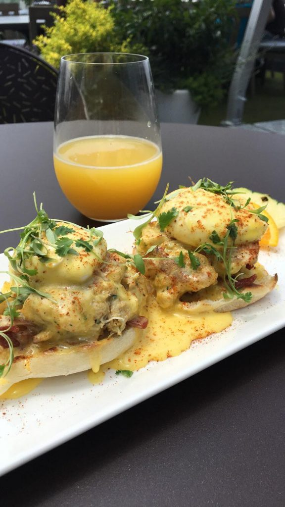 Crab Cake Benedict for Brunch on Sunday's
