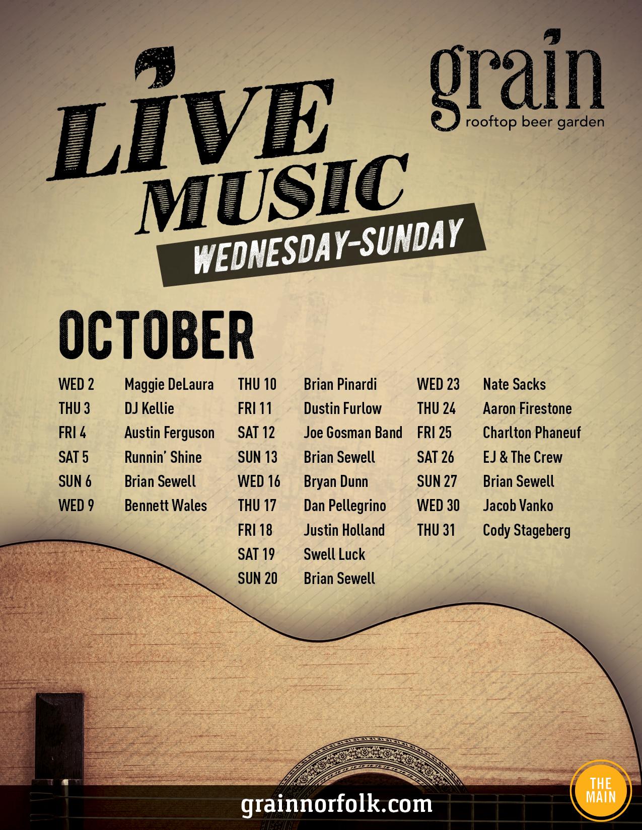 GRAIN_0344_OCT Entertainment Calendar Flyer