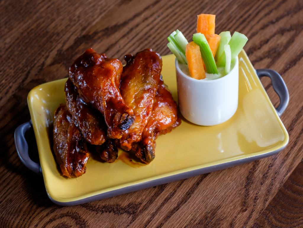 BBQ Pork Wings